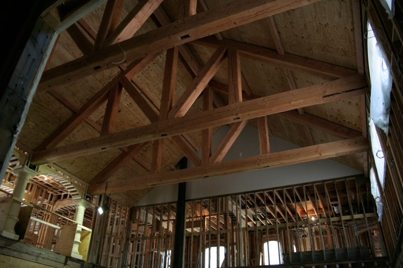 Decorative timber trusses southern components inc for Buy trusses