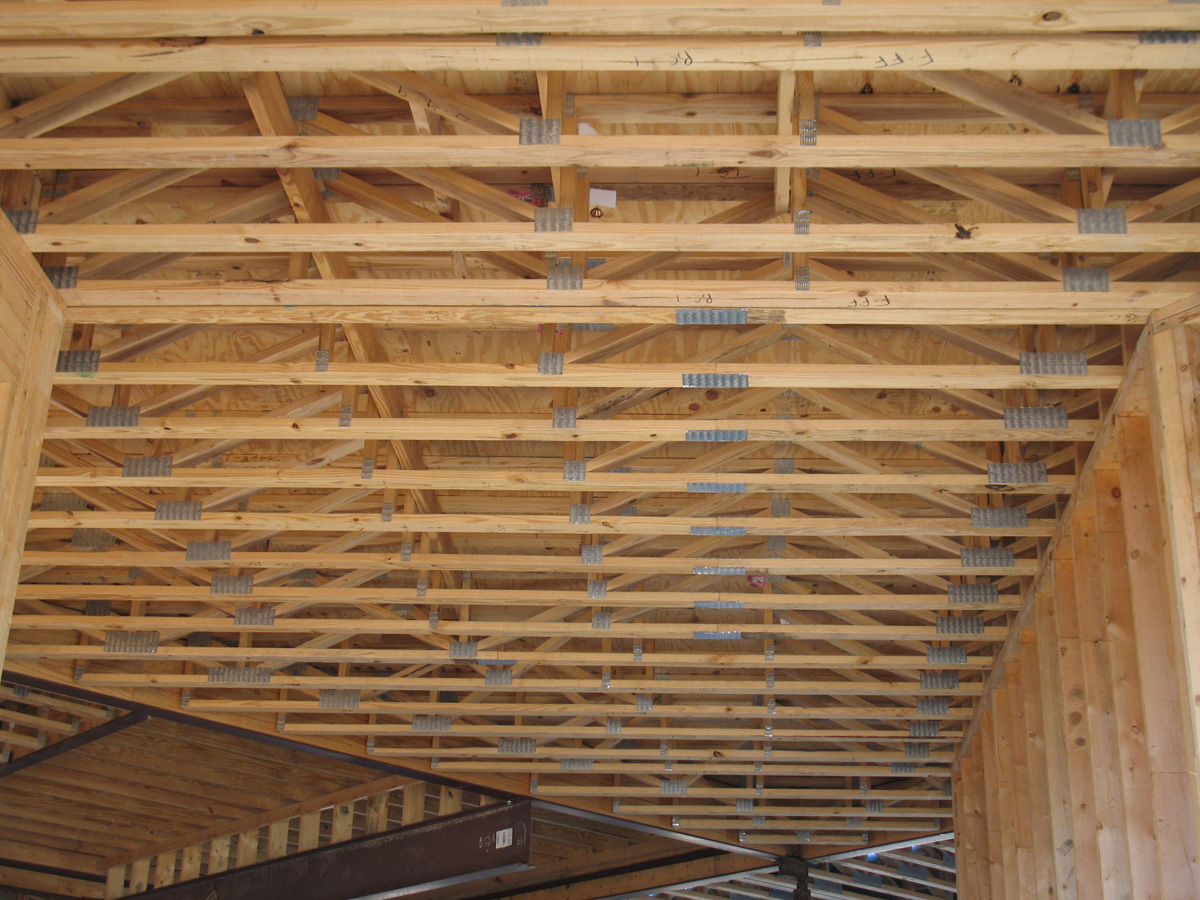 Product line southern components inc for Engineered trusses cost
