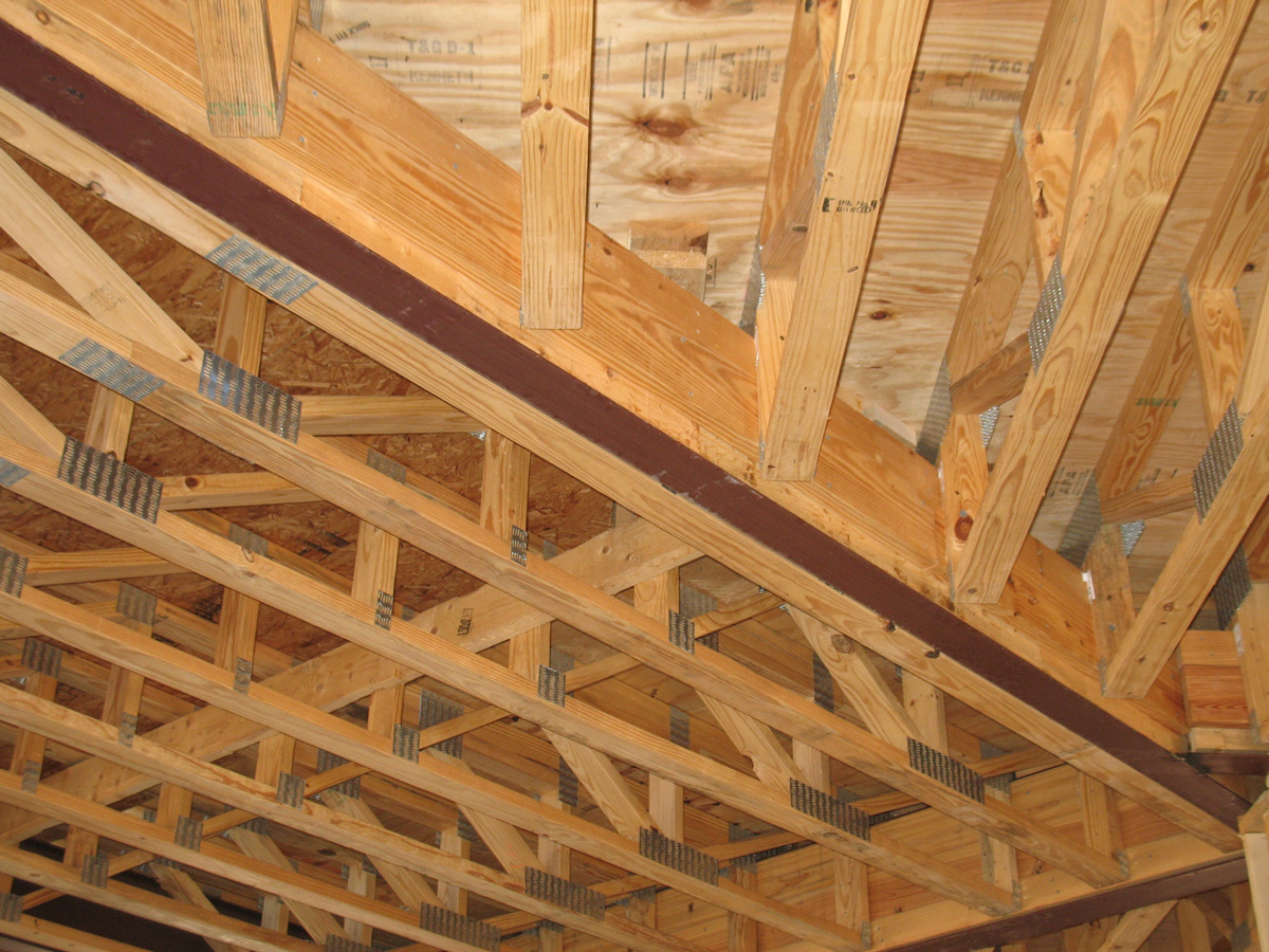 Floor truss systems southern components inc Floor joist trusses